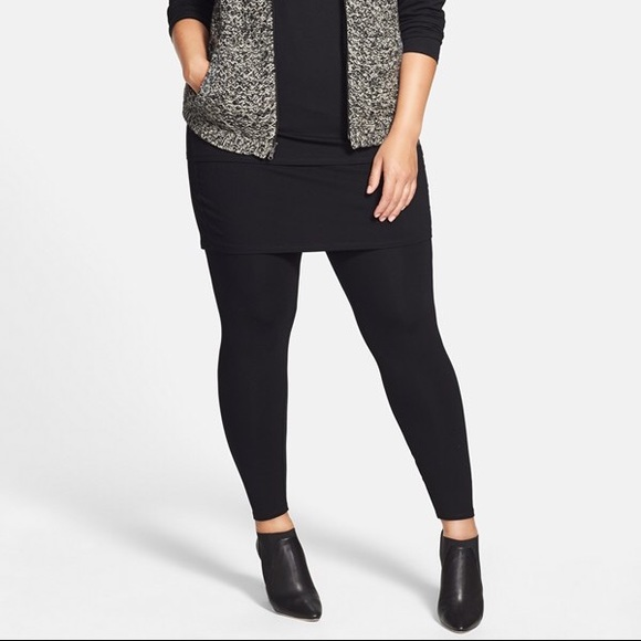 54806438d0f94c Eileen Fisher Pants - Jersey knit skirted leggings by Eileen Fisher