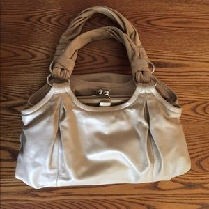 Coach Buff - Nude Handbag / Purse EUC!