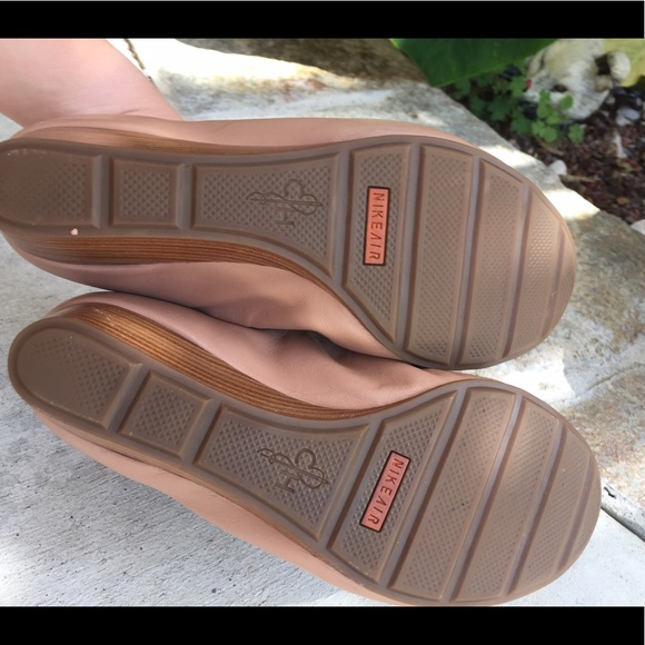 Cole Haan Shoes | Cole Haan Tan Wedges Nike Air Sole