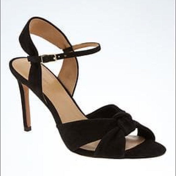 Banana Republic Shoes - Banana republic Knot high heel