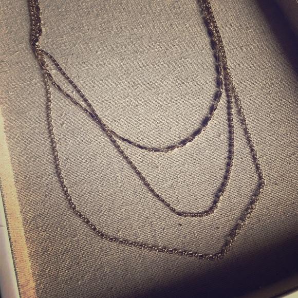 Stella & Dot Jewelry - Multi-strand layering necklace