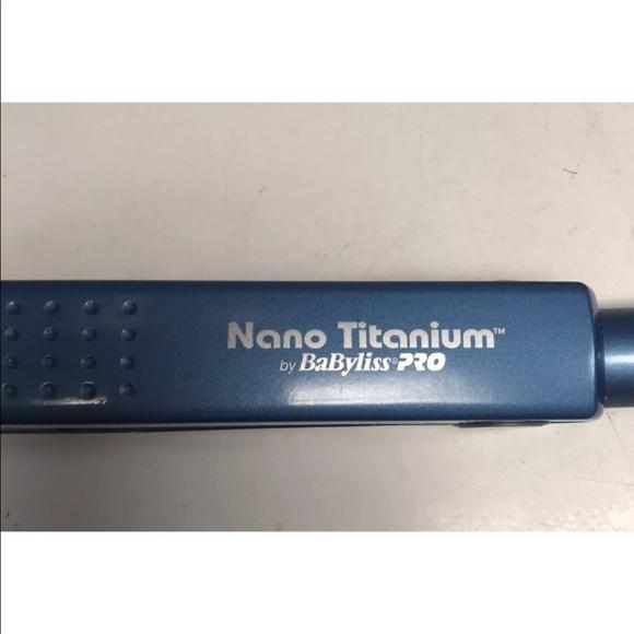78 Off Babyliss Other Babyliss Pro Nano Titanium 1 Inch