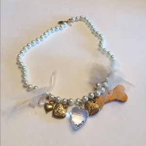 Dog Pearl Necklace