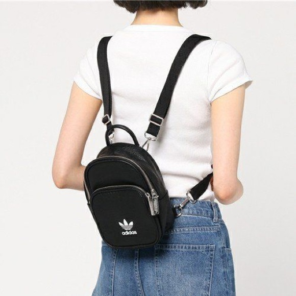 2c80ce3a86a Mini Adidas Faux Leather Backpack