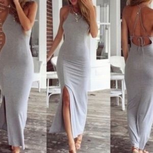 Dresses & Skirts - ✨small grey maxi✨