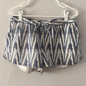 J. Crew Factory Ikat Pull-On Shorts