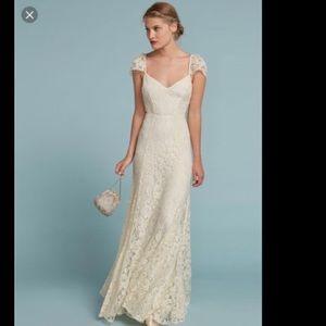 new | Reformation Seleste Wedding Dress in Lace