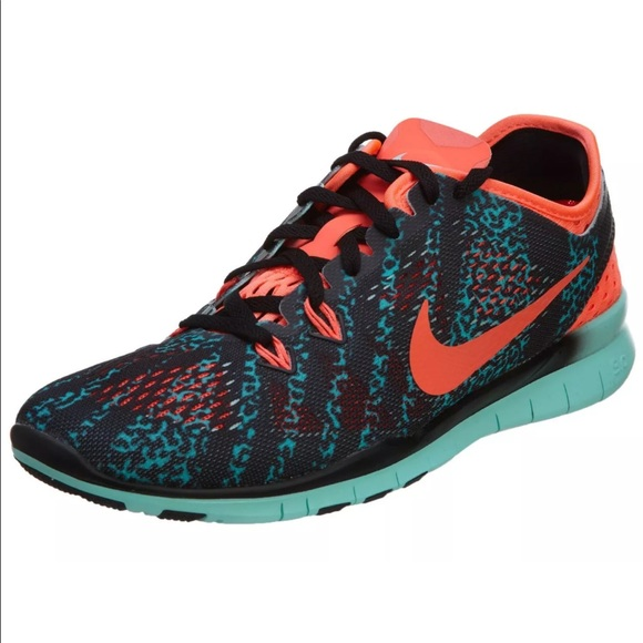 efbdea715b2c Nike Free 5.0 Tr Fit 5 Printed Training Shoes