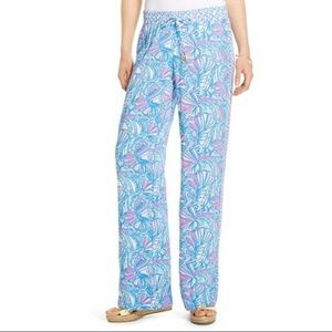 Lilly Pulitzer for Target My Fans Pants Size L