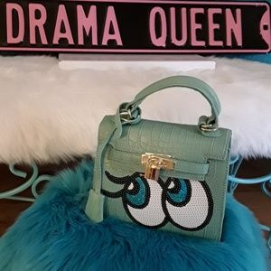 Handbags - BIG EYES  MINT BAG NWOT