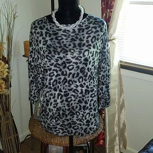 Alloy Cheetah print shirt