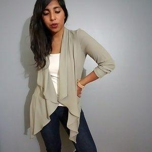 Jackets & Blazers - LIGHT OLIVE CARDIGAN