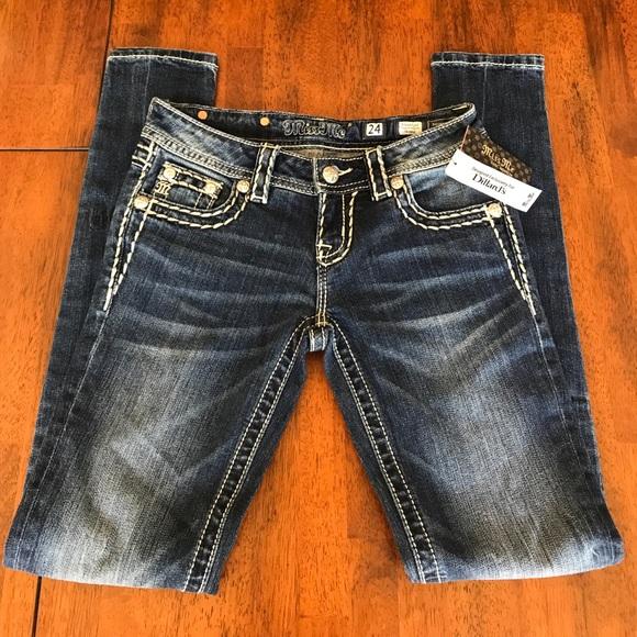 Miss me jeans size 24