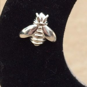Jewelry - Sterling Silver 925 Bumble Bee Stud Earrings
