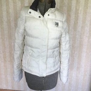 American Eagle puffer coat.