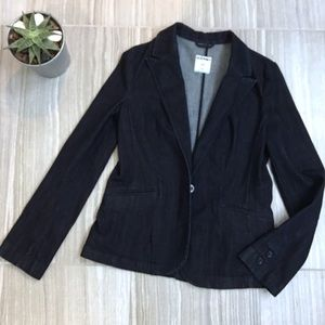 Old Navy Denim Blazer jacket  Size S