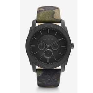 Express Men's Camo Watch, like new!
