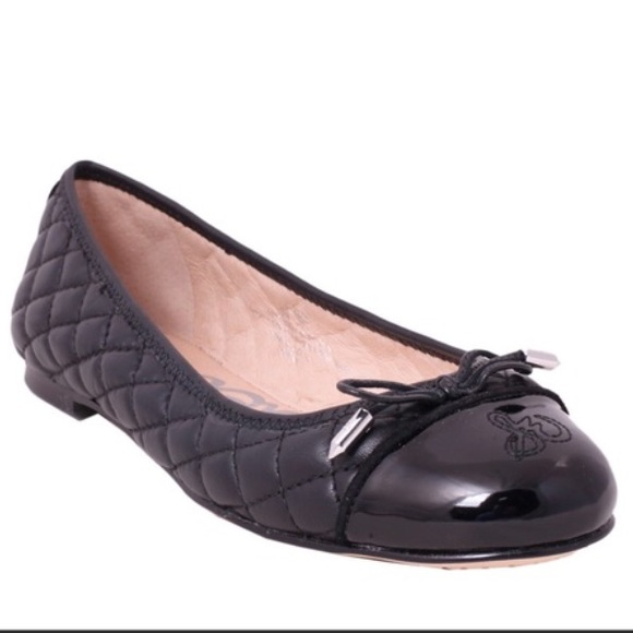Sam Edelman Becka Black Quilted Leather