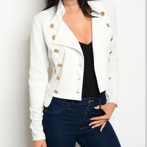 Jackets & Blazers - 🔘 Double breasted military style blazer