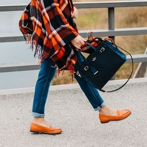 Cole Haan Sloane Eva Orange Loafer with Nike Air