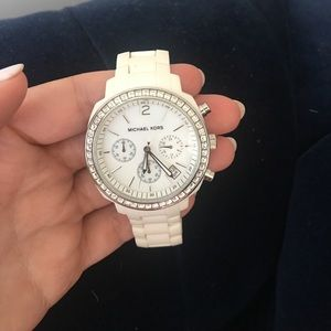 Michael Kors White Watch MK5079
