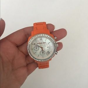 Michael Kors Orange Chronograph Watch MK5119