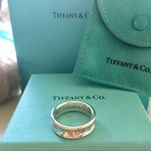 Authentic Tiffany 1837 ring