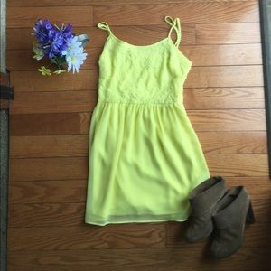 🌿{5 for $25}  ✨HP✨ Yellow Mini Sundress ☀️