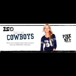 ISO Victoria's Secret PINK NFL Dallas Cowboys