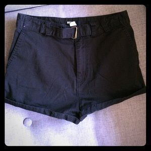Urban Outfitters BDG high rise belted short shorts