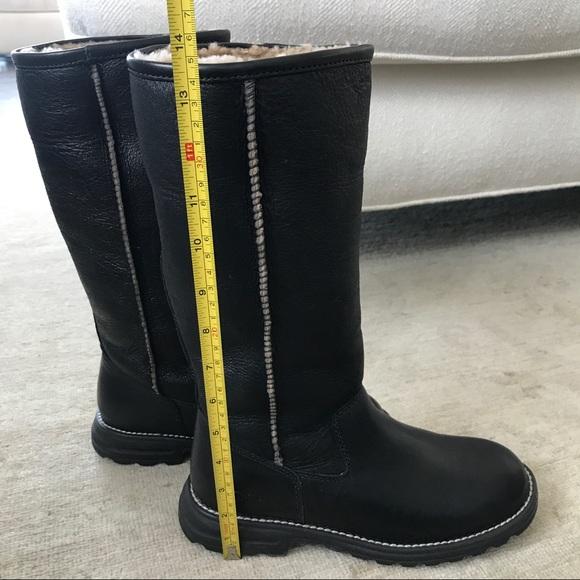 953056a6793 Uggs Brooks Tall Black Boots   MIT Hillel