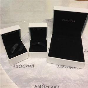2 Pandora charm box and 1 Pandora bracelet box