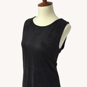 Anthropologie Dresses - Faux Suede Mini Dress