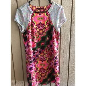 Custo Barcelona psychedelic print dress small