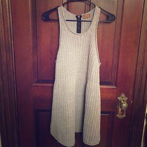 Dresses & Skirts - Dollskill Grey Knit Dress
