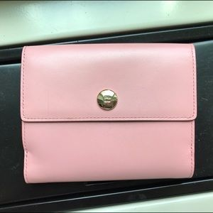 Pink and Green Kate Spade Wallet
