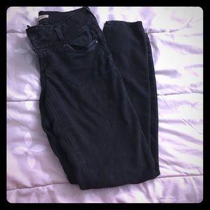 Blue spice black jeans