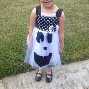 Little Girl Ghost Costume 3T/ 4T