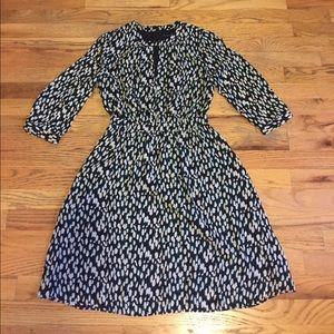 Print BR dress NWT