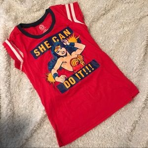 EUC Wonder Woman tee