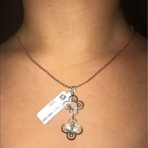 Jewelry - 18kt Gold Layered Necklace and pendant.