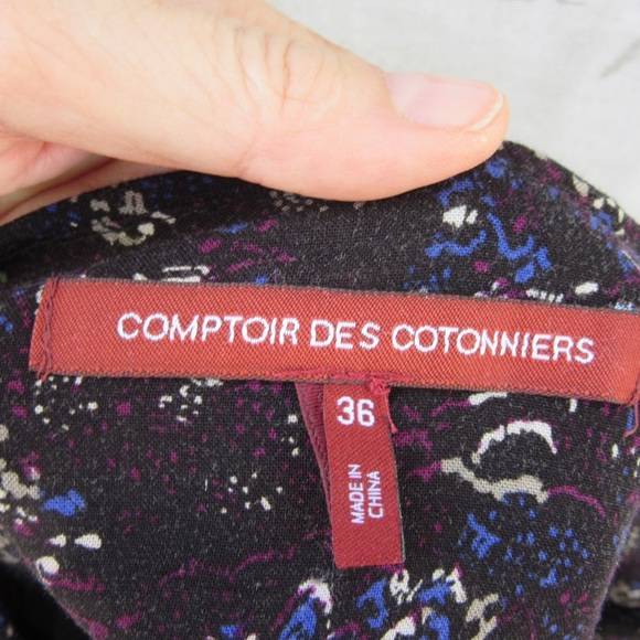 69 off comptoir des cotonniers dresses skirts hp comptoir des cotonniers black blue. Black Bedroom Furniture Sets. Home Design Ideas