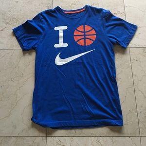 Nike dri- fit shirt size small