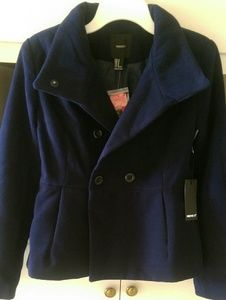 Forever 21 Jackets & Coats - New Forever 21 Navy Blue Coat Jacket
