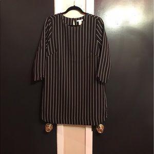 H & M Striped Dress