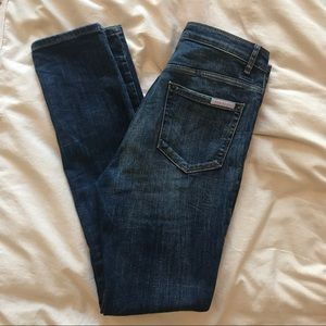 Sass & Bide skinny high waisted jeans