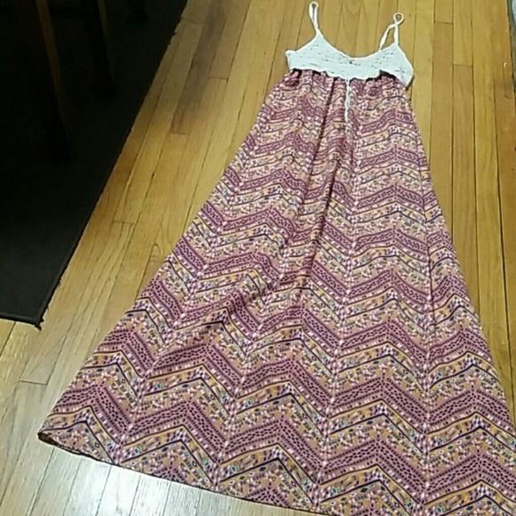 Love fire maxi dresses