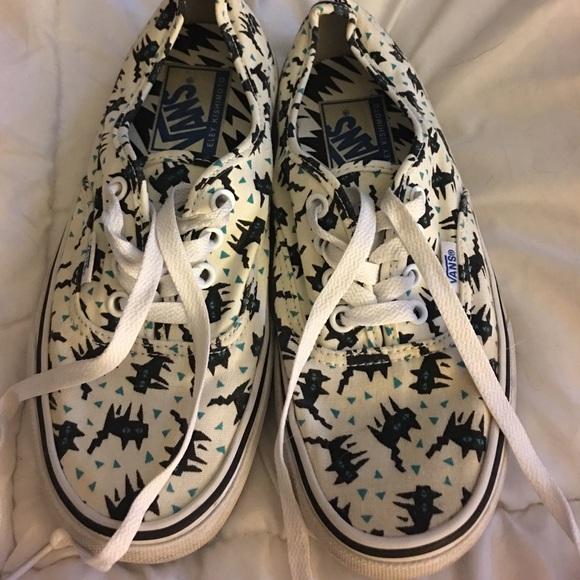 43cce36965685 VANS Black Cat Tennis Shoes