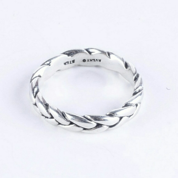 Size J Ring Silver