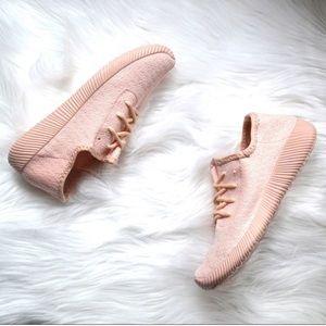 Pink Flyknit Sneakers